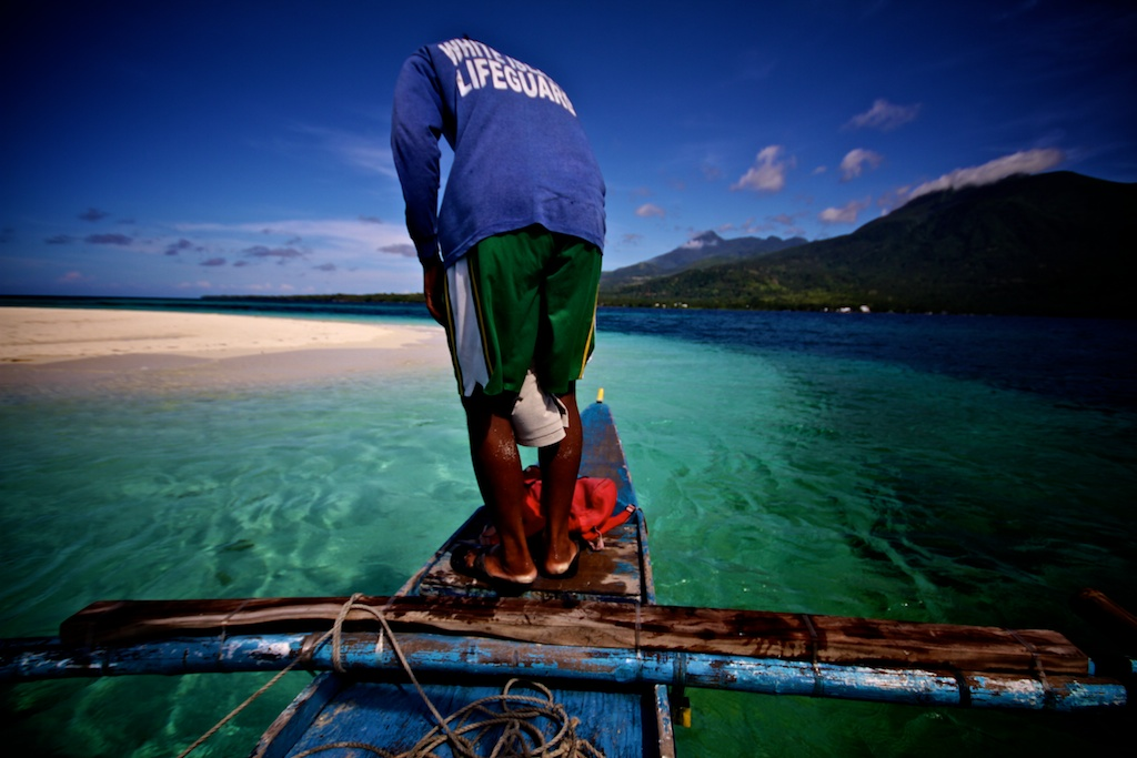 philippines plage de sable blanc