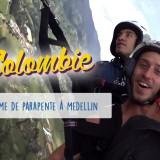 Parapente Medellin Colombie