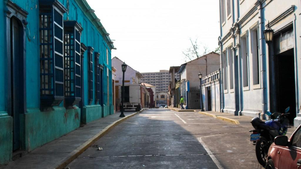 Une ruelle de Maracaibo
