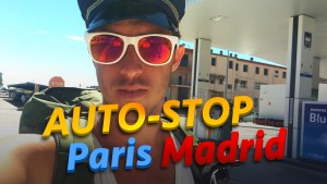 Paris Madrid autostop