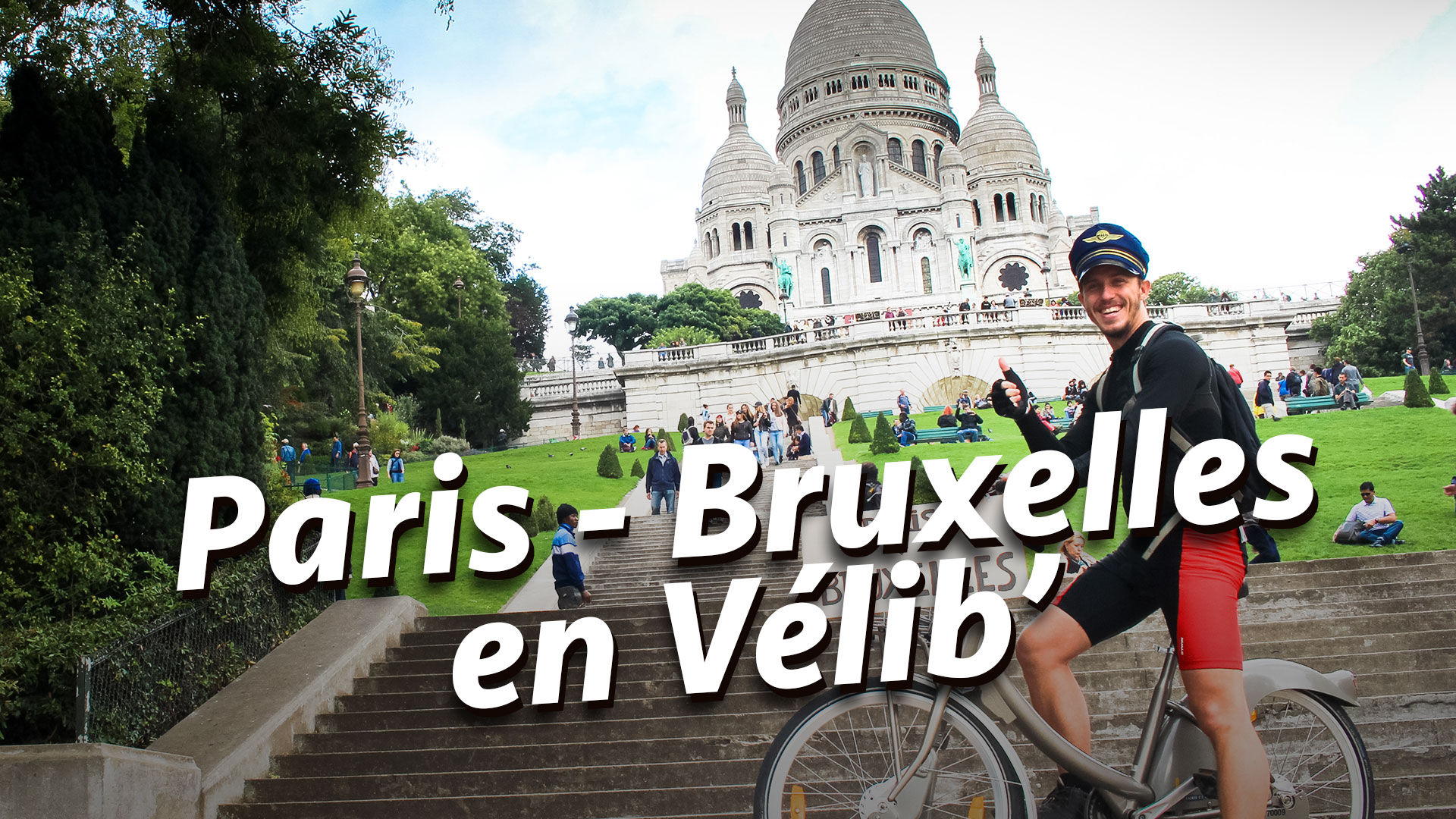Paris – Bruxelles en Vélib