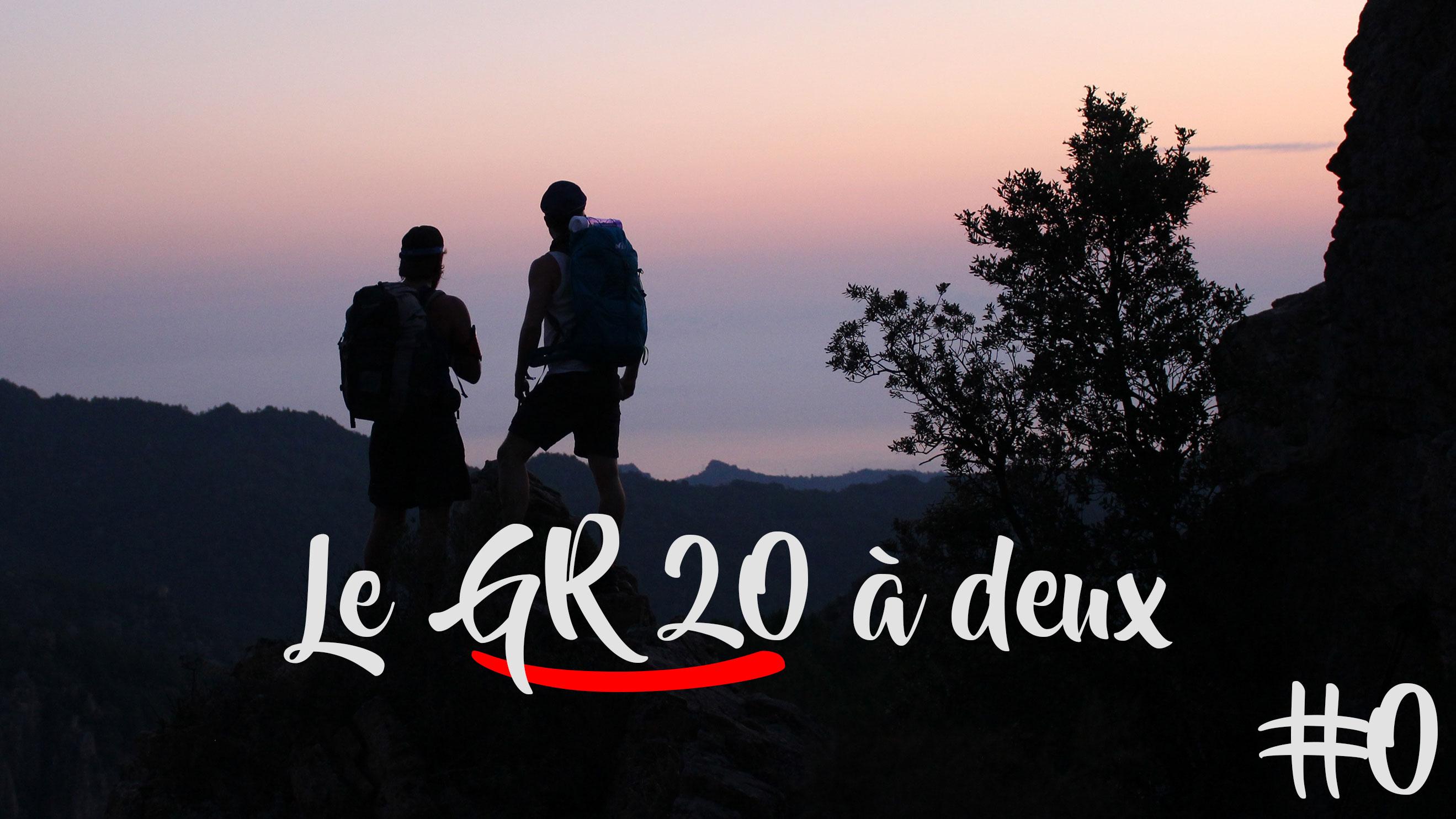 GR20 à DEUX // Teaser Corse