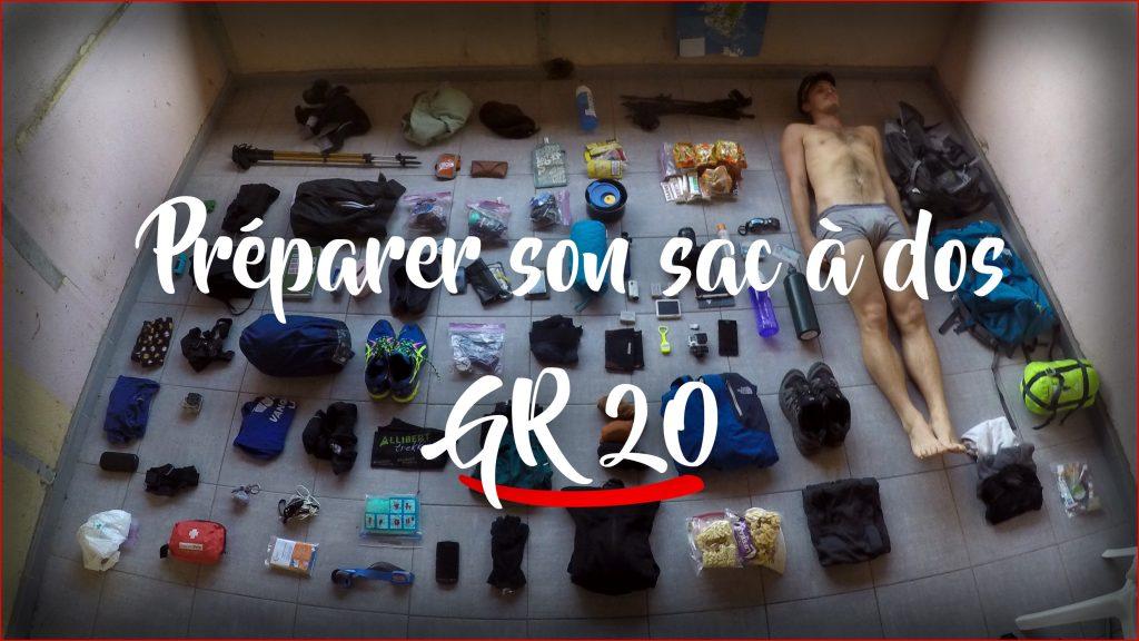 Préparer le GR20