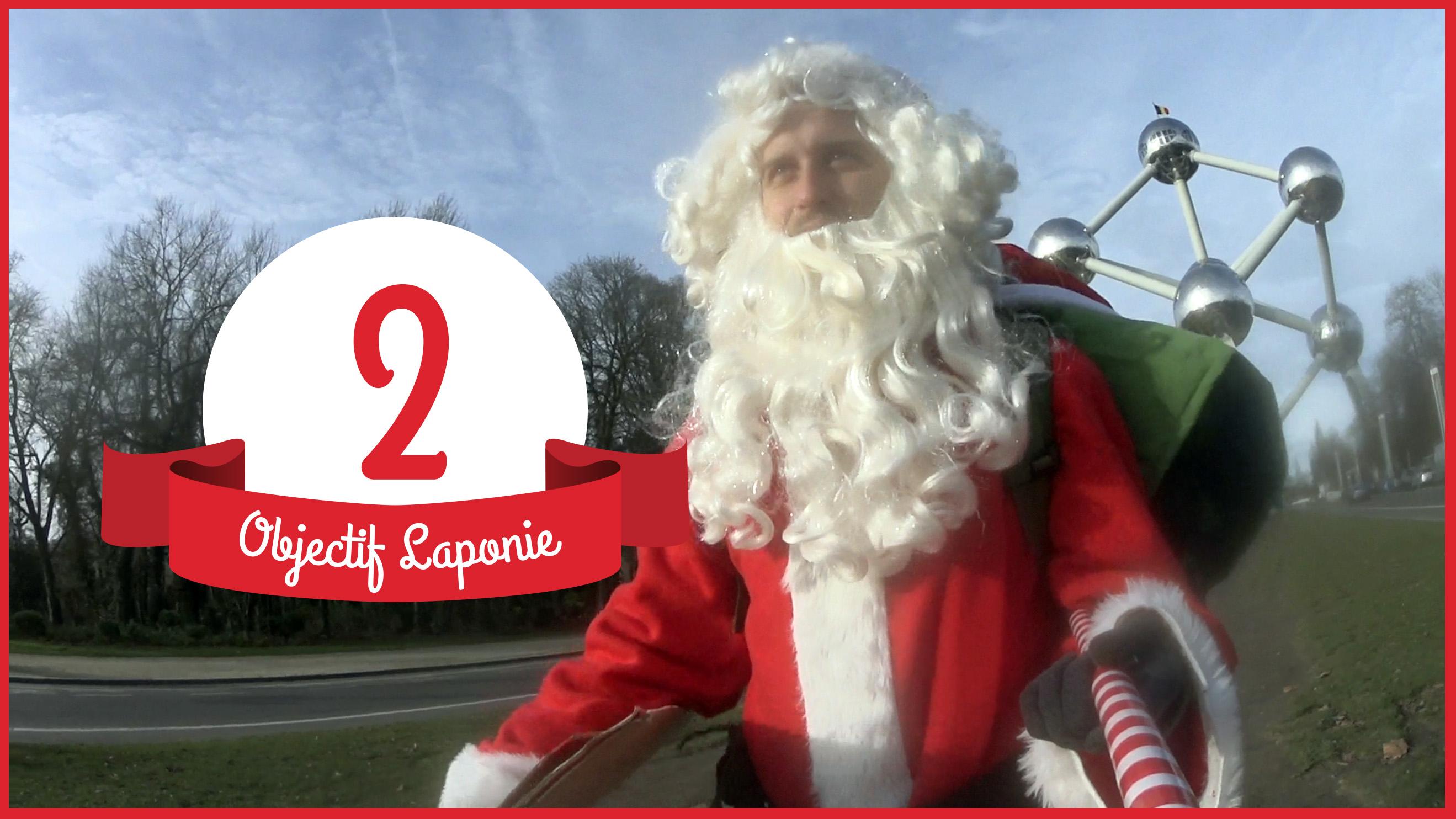 #02 Le Père Noël passe par Bruxelles (Atomium)