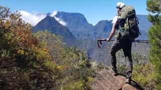 La Réunion à pied : de La Roche Écrite à Dos d'âne (étape 2 Gr r2)