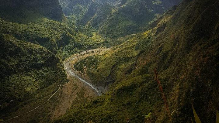 Le sentier des canalisation de l'orangeraie  – La Réunion à pied (étape 6)