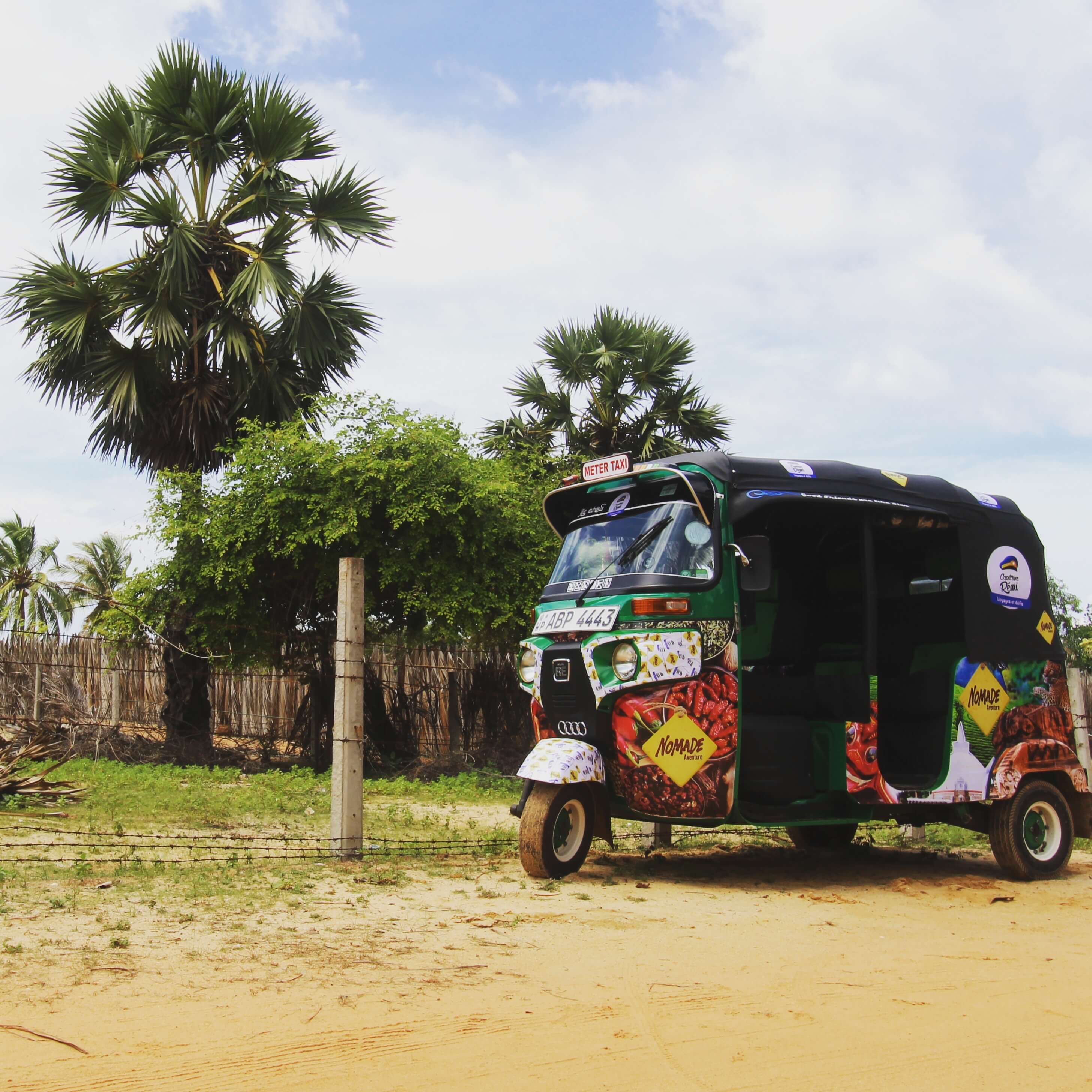 Le tour du Sri Lanka en tuktuk