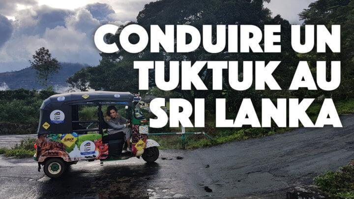 Louer un tuktuk au Sri Lanka