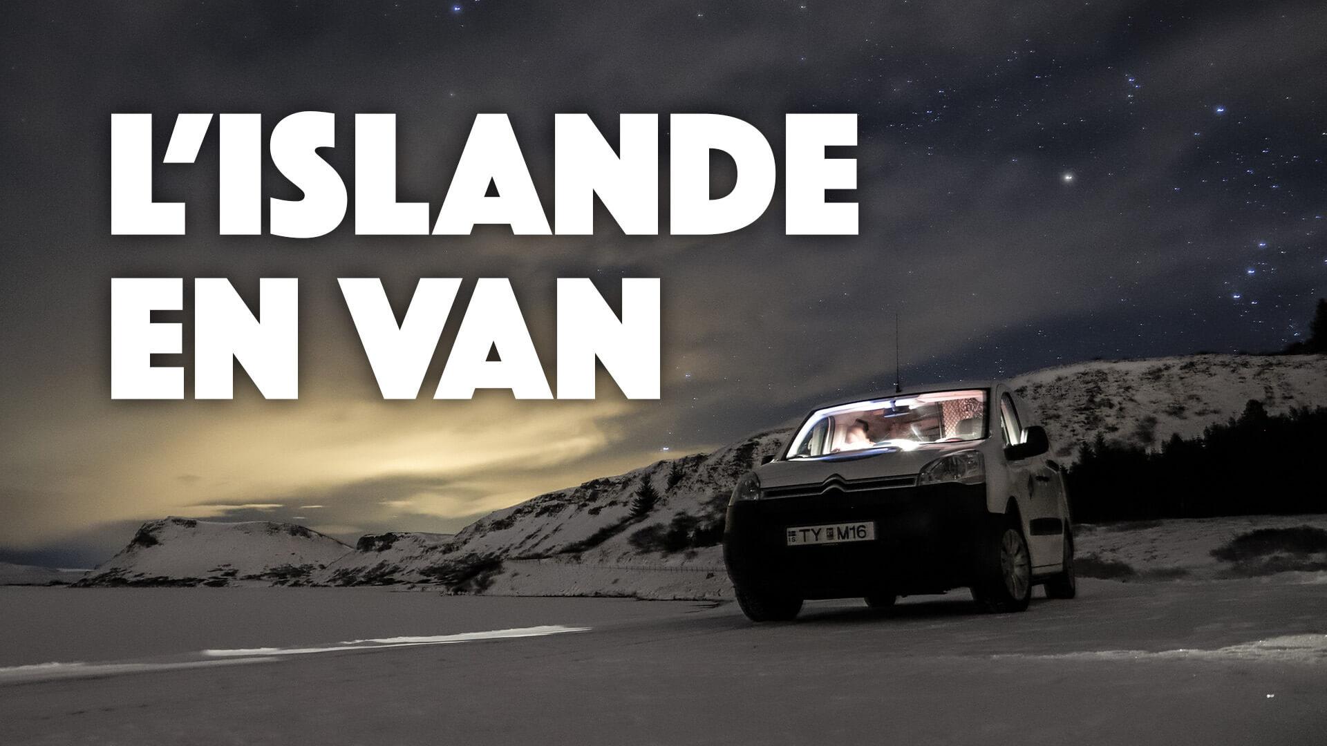 L'Islande en Van en hiver