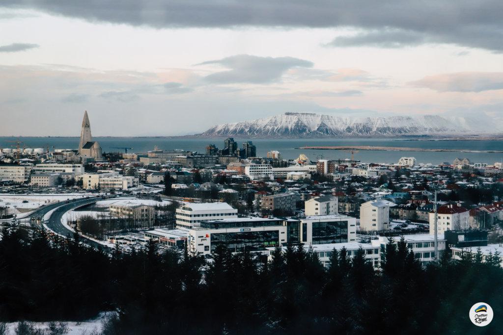 Reykjavic hiver winter