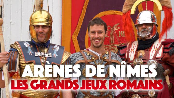 J'ai participé aux Grands Jeux Romains dans les arènes de Nîmes