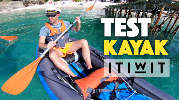 Test Kayak gonflable Itiwit 2 places (Décathlon)